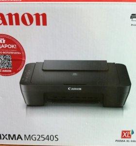 Новое МФУ Canon, на гарантии