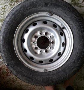 Колёса BARCUZIN с диском K 175 4×4 205/70 R 15