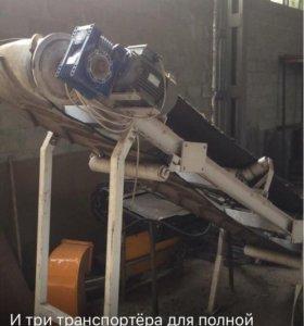 оборудование по переработке б/у резины и автопокры