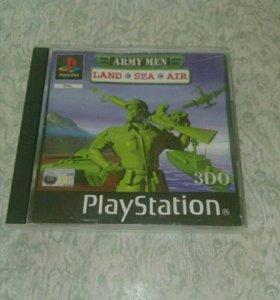 Army men PS1 лицензия