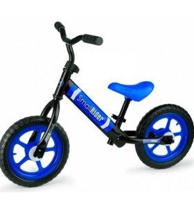 Новые. Детский беговел Small Rider Tornado 2 синий