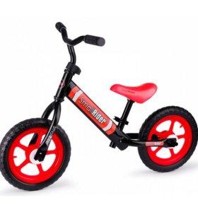 Новые. Детский беговел Small Rider Tornado 2 красн
