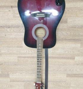 🎸🔥Акустическая гитара Martinez FAW 702 TP🎶🔥
