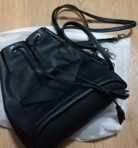 Сумка-рюкзак кожаная новая