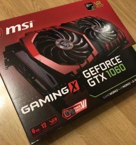 Видеокарта GTX 1060 gaming X 6gb