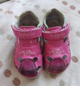 Продам сандалии 21 размер