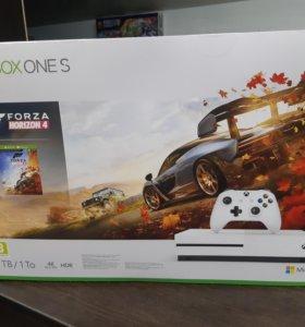 Новый Xbox One S 1Тб+ Forza Horizon 4