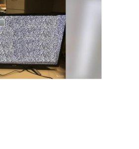 телевизор с пультом в хорошем состоянии