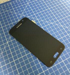 Дисплей Samsung s7 g930 черный оригинал