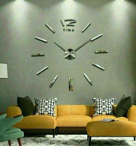 Настенные 3D VIP часы (12 видов). БАБОЧКИ.