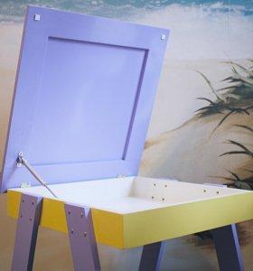 Стол для игр с кинетическим песком имелками