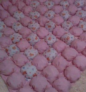 Одеяло бомбон ручной работы на заказ