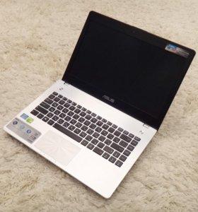 Мощный игровой ноутбук Asus Core i7, 4 гб видео