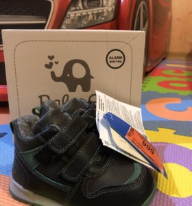 Новые демисезонные ботинки Baby Go