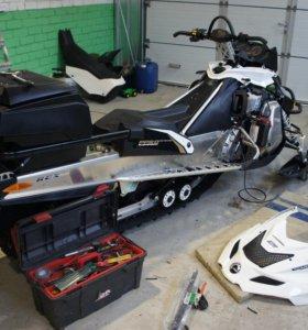 Ремонт снегоходов, бензо и электро инструмента
