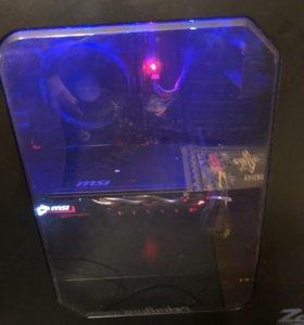 Ryzen 5 1500x GTX 1060 6GB msi
