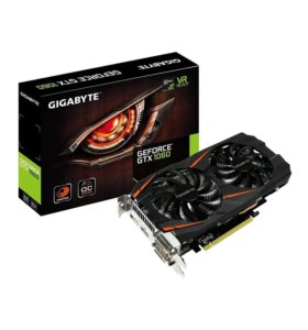 Видеокарта Nvidia Geforce 1060 6gb Gigabyte