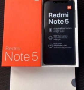 Redmi Note5 black 3/32gb