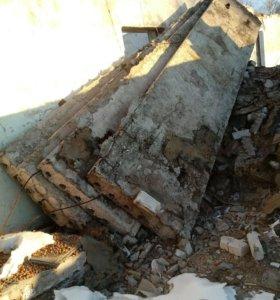 Плиты перекрытия, блоки фундаментные, балки