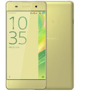 Xperia X Performance Lime Gold