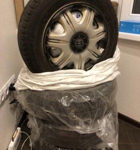 Новая зимняя резина Bridgestone 175/65/14 Липучка