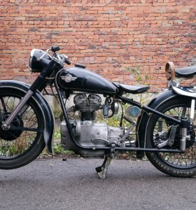Мотоцикл Simson 1958 года