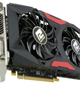 Видеокарта PowerColor rx 580 8gb Red Dragon