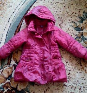 Удлиненная курточка