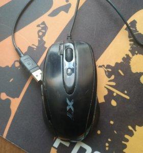 Мышь a4tech x7