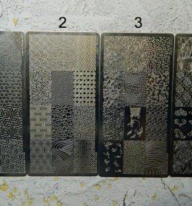 Пластины и штамп для стемпинга Magnetic и Konad