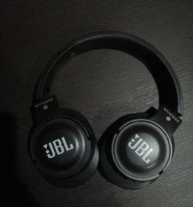 Беспроводные блютуз наушники JBL (Bluetooth)