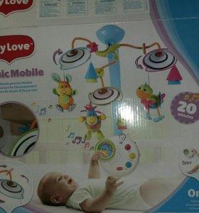Мобиль Tiny Love +коврик chicco