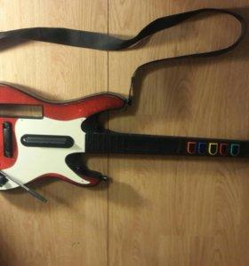 Гитара для nintendo wii от guitar hero