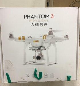Квадрокоптер Phantom 3 professional