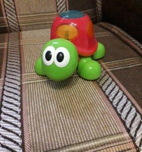 Игрушка черепаха с музыкой