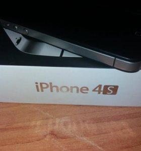 iPhone 4s black 16 gb.