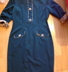 Платье демисезонное миди