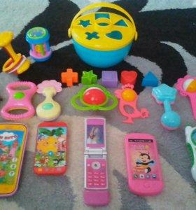 Пакет игрушек(цена за все)