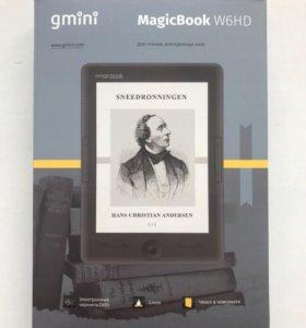 Электронная книга gmini MagiBook W6HD