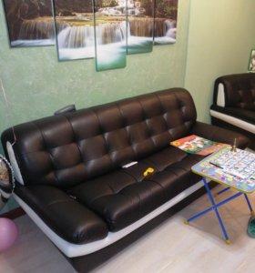 Коженная мебель