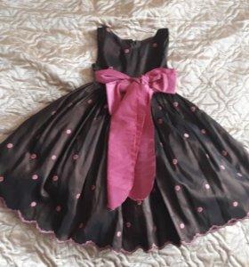 Платье для праздника на 2-3 года