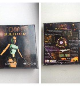 Tomb raider лицензионный диск для playstation 1