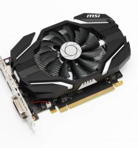 Видеокарта MSI GTX 1050 Ti 4GB