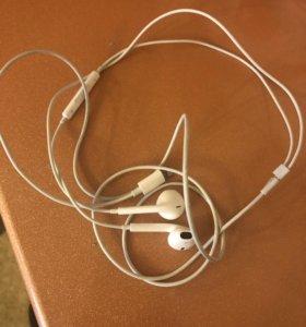 Наушники apple от айфон 7 ( новые)