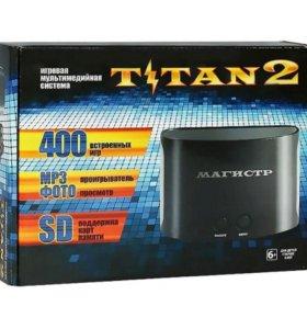 Магистр Titan 2[Sega - Dendy- SD карта] + 400 игр