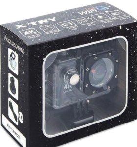 Экшн-камера X-Try XTC162 Neo 4K WiFi, черный