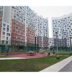 Квартира, 2 комнаты, 64.3 м²