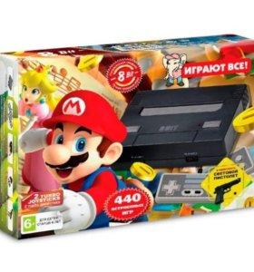 Игровая приставка Денди Mario 440 в 1