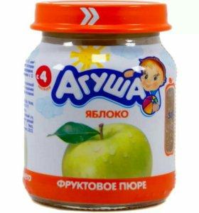 Пюре яблоко Агуша