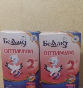 Смесь Беллакт Оптимум 2+